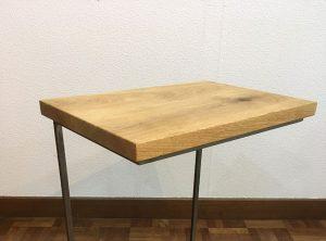 キャスター付きソファテーブル
