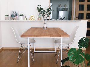 ユーカリのダイニングテーブル