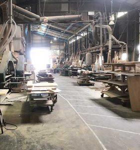工場の整備