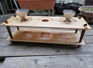 コーヒードロップテーブル