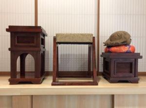 馨子台と木魚台を作成