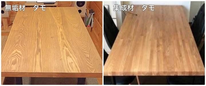 無垢材と集成材、どちらを選ぶ? 木材通販のマルトクショップ